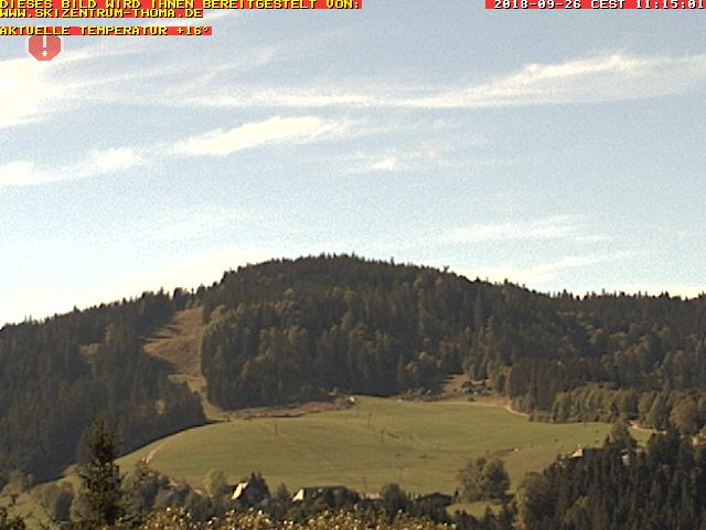 Webcam Hinterzarten - Skizentrum Thoma